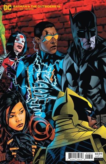 DC Comics Batman and the Outsiders, Vol. 3 #16B Comic Book