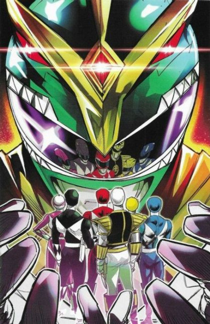 Boom! Studios Mighty Morphin #1G Comic Book [Carlini Variant]