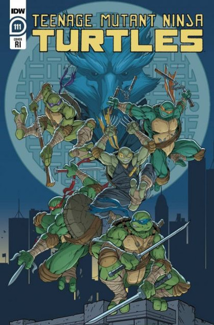 IDW Publishing Teenage Mutant Ninja Turtles, Vol. 5 #111C Comic Book [1:10 Lubera Variant]