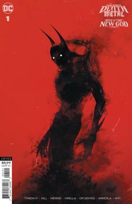 DC Comics Dark Nights: Death Metal: Rise of The New God #1B Comic Book