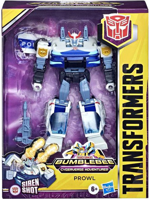 Transformers Bumblebee Cyberverse Adventures Prowl Deluxe Action Figure (Pre-Order ships January)