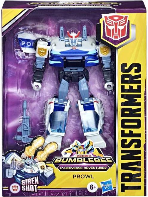 Transformers Bumblebee Cyberverse Adventures Prowl Deluxe Action Figure
