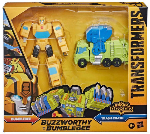 Transformers Cyberverse Power of the Spark Spark Armor Bumblebee Elite Class Action Figure (Pre-Order ships January)