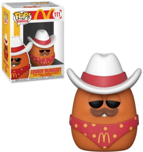 Funko McDonald's POP! Ad Icons Cowboy Nugget Vinyl Figure (Pre-Order ships February)