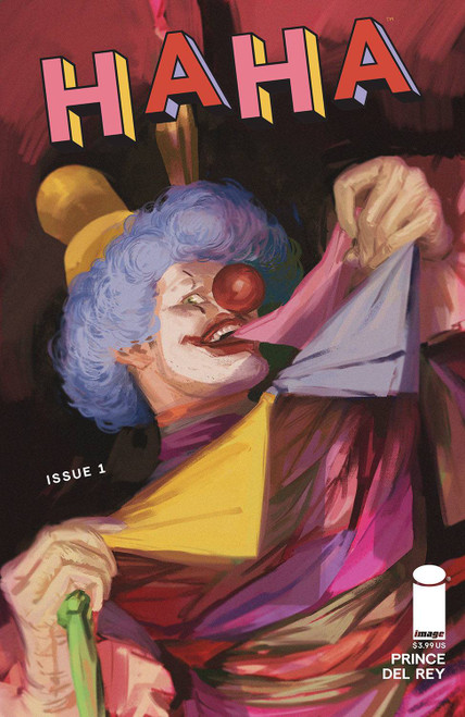 Image Comics Haha #1 Comic Book [Cover A Del Rey] (Pre-Order ships January)