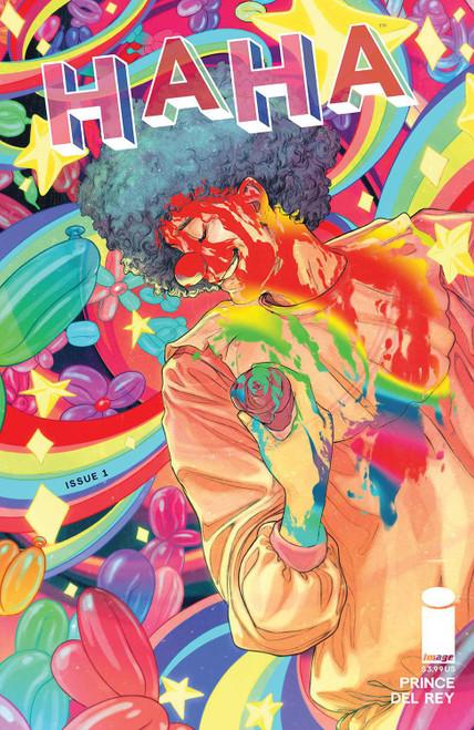 Image Comics Haha #1 Comic Book [Cover B Malavia] (Pre-Order ships January)