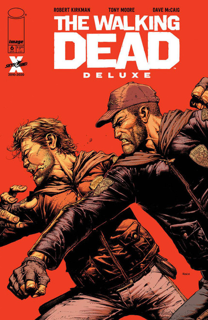 Image Comics The Walking Dead Deluxe #6 Comic Book [Cover A Finch & McCaig] (Pre-Order ships January)