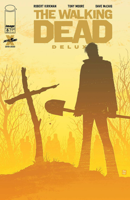 Image Comics The Walking Dead Deluxe #6 Comic Book [Cover B Moore & McCaig] (Pre-Order ships January)