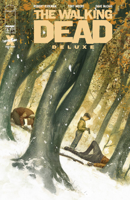 Image Comics The Walking Dead Deluxe #6 Comic Book [Cover D Tedesco] (Pre-Order ships January)