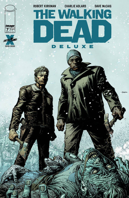Image Comics The Walking Dead Deluxe #7 Comic Book [Cover A Finch & McCaig] (Pre-Order ships January)