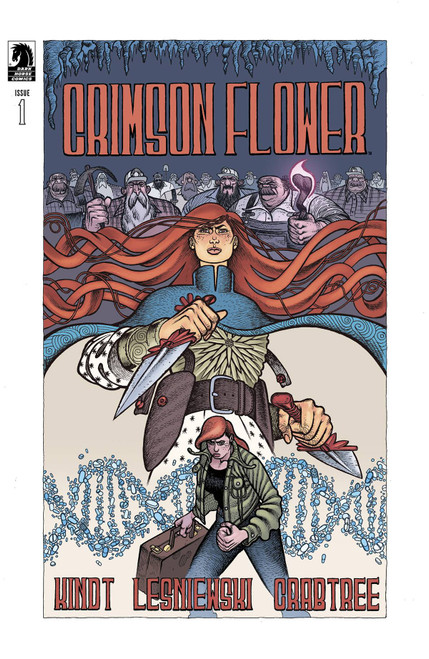 Dark Horse Crimson Flower #1 Comic Book [Cover A Lesniewski] (Pre-Order ships January)