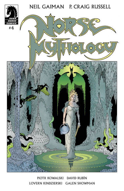 Dark Horse Neil Gaiman Norse Mythology #4 Comic Book [Cover A Russell] (Pre-Order ships January)