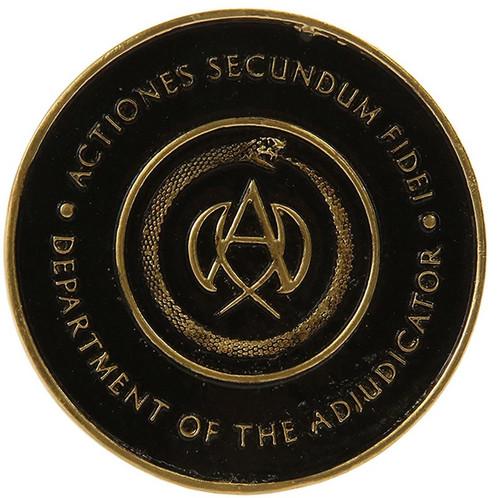 John Wick Chapter 3 Adjudicator's Medallion Prop Replica