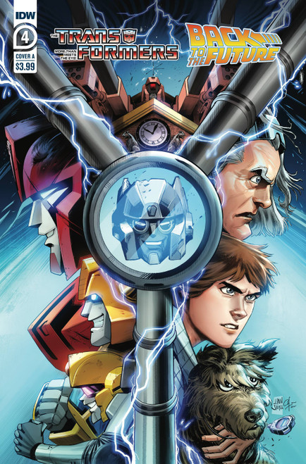 IDW Transformers Back to the Future #4 of 4 Comic Book [Cover A Juan Samu]