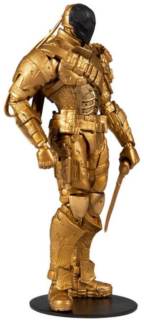 McFarlane Toys DC Arkham Origins Deathstroke Action Figure [Gold]