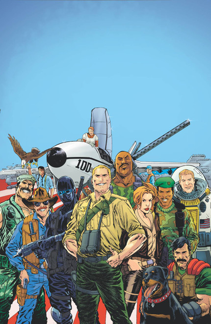 IDW Publishing G.I. Joe: A Real American Hero #1 Yearbook Comic Book (Pre-Order ships January)