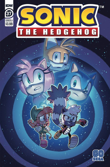 IDW Sonic The Hedgehog #37 Comic Book [Cover A Evan Stanley] (Pre-Order ships January)
