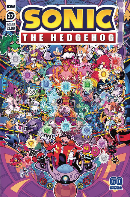 IDW Sonic The Hedgehog #37 Comic Book [Cover B Jon Gray] (Pre-Order ships January)