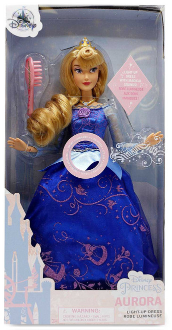 Disney Princess Sleeping Beauty Premium Princess Aurora Exclusive 11.5-Inch Doll [Light-Up Dress]