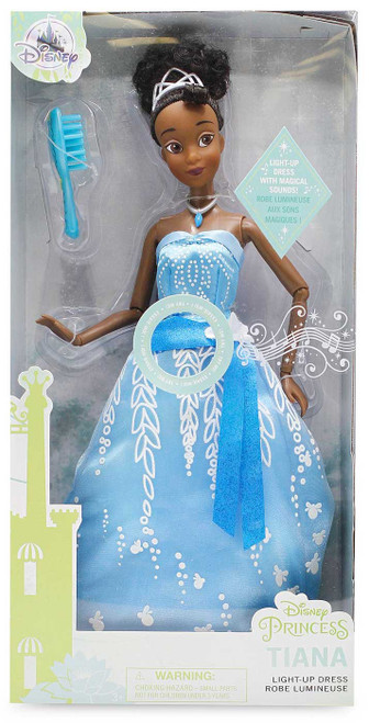 Disney Princess The Princess & The Frog Premium Princess Tiana Exclusive 11.5-Inch Doll [Light-Up Dress]
