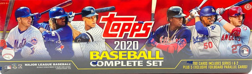 MLB Topps 2020 Baseball Trading Card HOBBY Set [700 Cards, Plus 5 Exclusive Parallel Cards!]