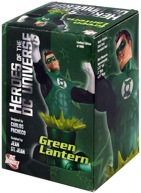 The Flash Heroes of the DC Universe Green Lantern Bust