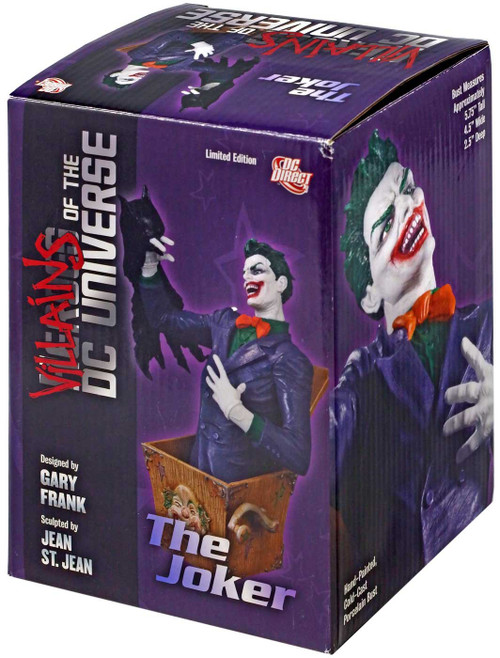 Batman Heroes of the DC Universe The Joker Bust