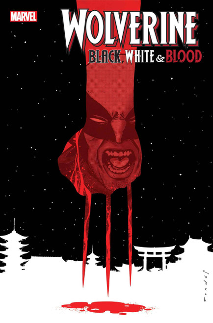 Marvel Wolverine: Black, White & Blood #3 of 4 Comic Book (Pre-Order ships January)
