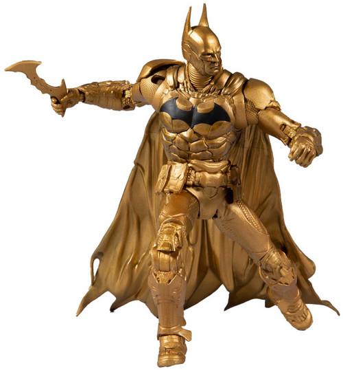 McFarlane Toys DC Arkham Knight Batman Action Figure [Gold]