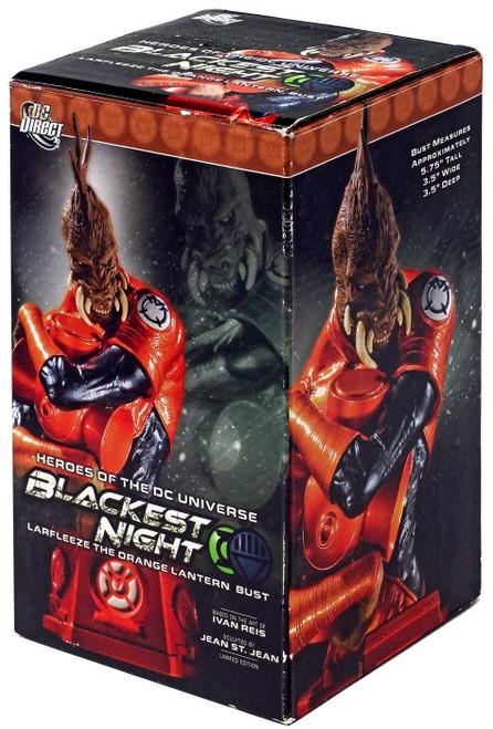 DC Green Lantern Blackest Night Larfleeze the Orange Lantern 6-Inch Bust