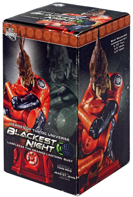 DC Green Lantern Blackest Night Larfleeze the Orange Lantern 6-Inch Bust