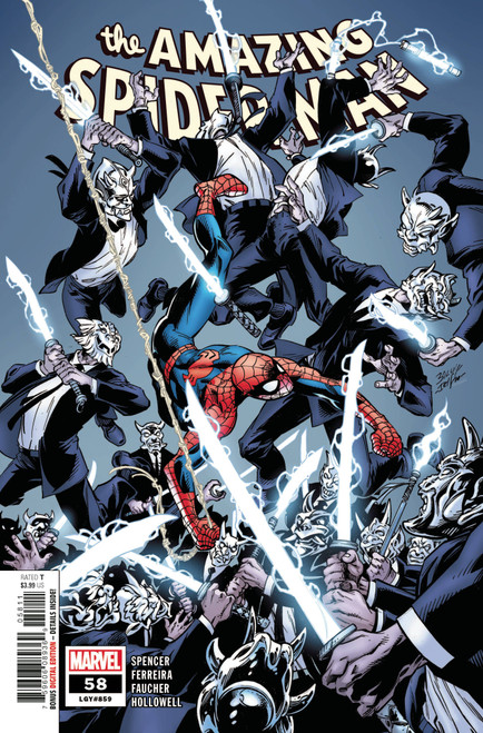 Marvel Comics Amazing Spider-Man #58 Comic Book (Pre-Order ships January)