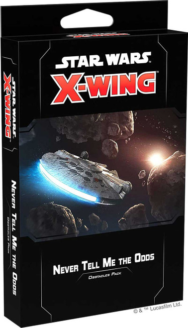 Star Wars X-Wing Miniatures Game Never Tell Me the Odds Obstacles Pack [2nd Edition]