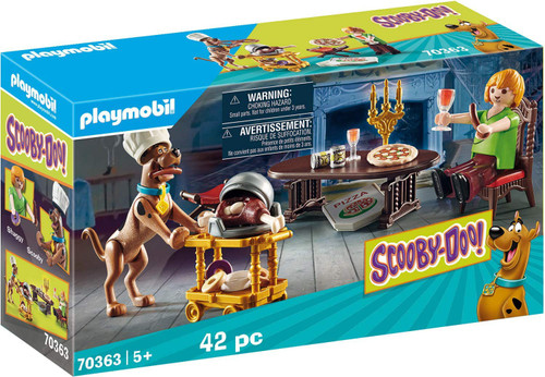 Playmobil Scooby-Doo! Dinner with Shaggy Set #70363