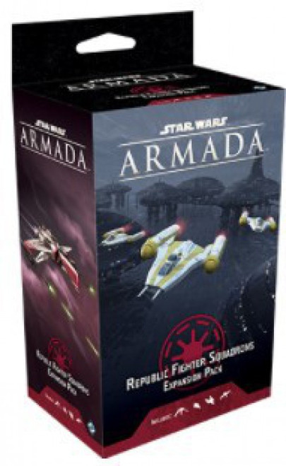 Star Wars Armada Republic Fighter Squadrons Expansion Pack (Pre-Order ships December)