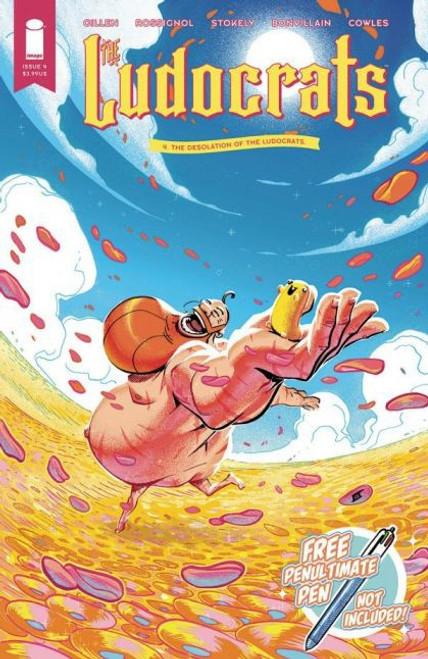 Image Comics Ludocrats #4A Comic Book