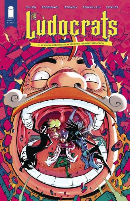 Image Comics Ludocrats #3A Comic Book