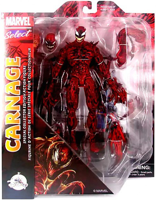 Marvel Select Carnage Exclusive Action Figure [Collector Edition]