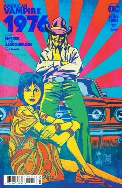 DC Comics American Vampire 1976 #2B Comic Book