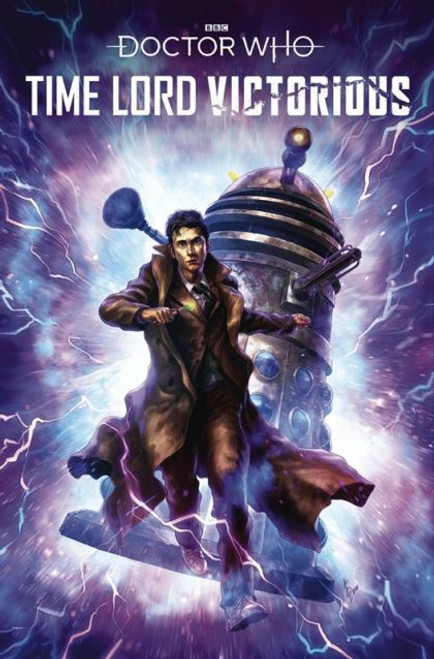 Titan Books Doctor Who: Time Lord Victorious #2C Comic Book