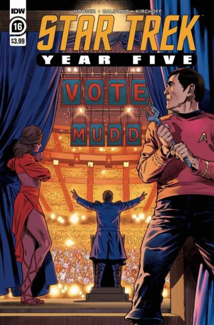 IDW Publishing Star Trek: Year Five #16A Comic Book