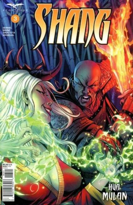 Zenescope Shang #3B Comic Book