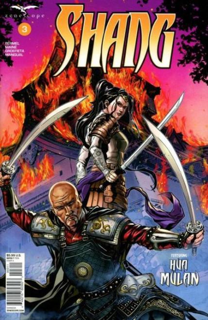 Zenescope Shang #3A Comic Book