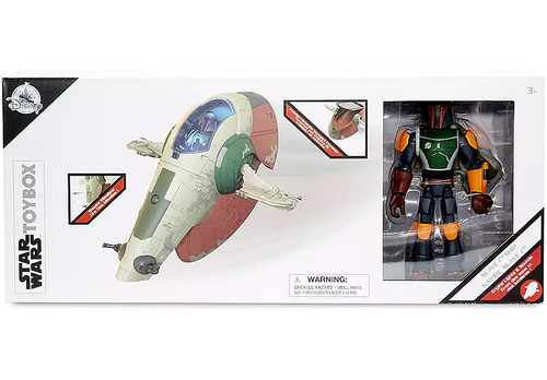 Disney Star Wars Toybox Slave I Ship & Boba Fett Exclusive Vehicle & Action Figure Playset