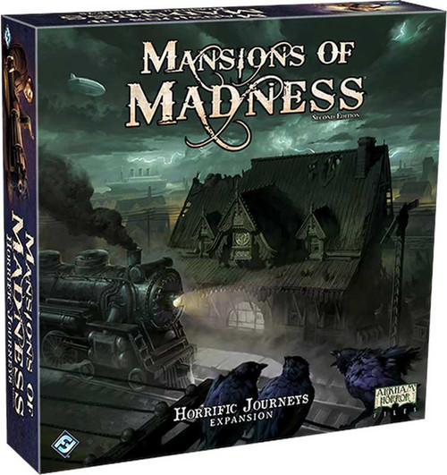 Mansions of Madness Horrific Journeys Board Game Expansion