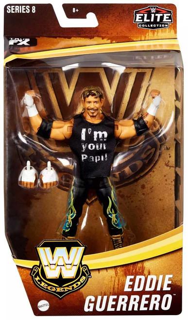 WWE Wrestling Elite Collection Legends Series 8 Eddie Guerrero Exclusive Action Figure
