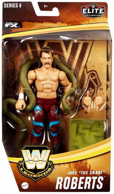 """WWE Wrestling Elite Collection Legends Series 8 Jake """"The Snake"""" Roberts Exclusive Action Figure"""