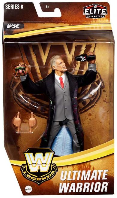 WWE Wrestling Elite Collection Legends Series 8 Ultimate Warrior Exclusive Action Figure