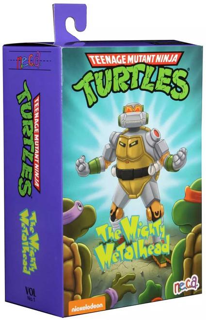 NECA Teenage Mutant Ninja Turtles The Mighty Metalhead Exclusive Action Figure