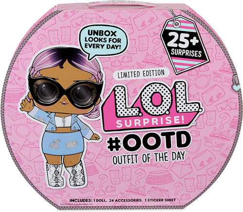 LOL Surprise 2018 LIMITED EDITION #OOTD Advent Calendar [Outfit of the Day, 25+ Surprises, Damaged Package]